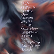 Tracklist art by Ian Woods